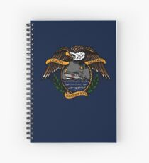 Death Before Dishonor - CG 47 MLB Spiral Notebook