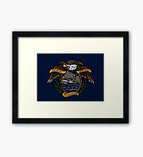 Death Before Dishonor - CG 47 MLB Framed Print