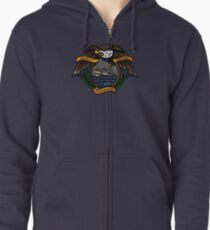 Death Before Dishonor - CG 47 MLB Zipped Hoodie