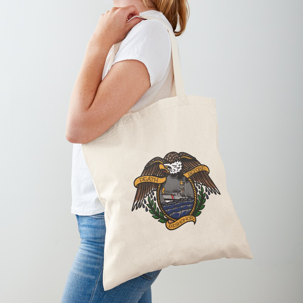 Death Before Dishonor - CG 47 MLB Tote Bag