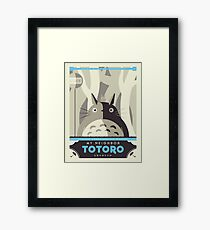 Lámina enmarcada Mi vecino Totoro
