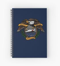 Death Before Dishonor - CG 41 UTB Spiral Notebook