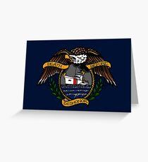Death Before Dishonor - CG 210 Greeting Card
