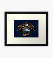 Death Before Dishonor - CG 110 WPB Framed Print