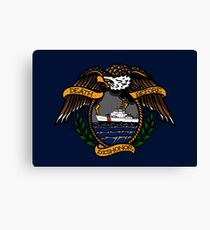 Death Before Dishonor - CG 110 WPB Canvas Print