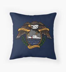 Death Before Dishonor - CG 110 WPB Throw Pillow