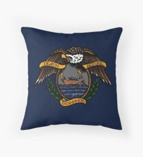 Death Before Dishonor - CG 25 RB-S Throw Pillow