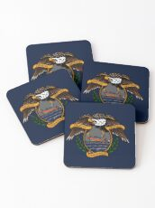 Death Before Dishonor - CG 25 RB-S Coasters