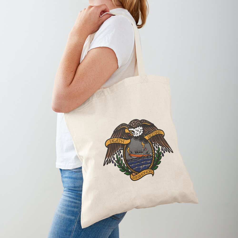 Death Before Dishonor - CG 25 RB-S Tote Bag