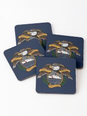 Death Before Dishonor - CG NSC Coasters