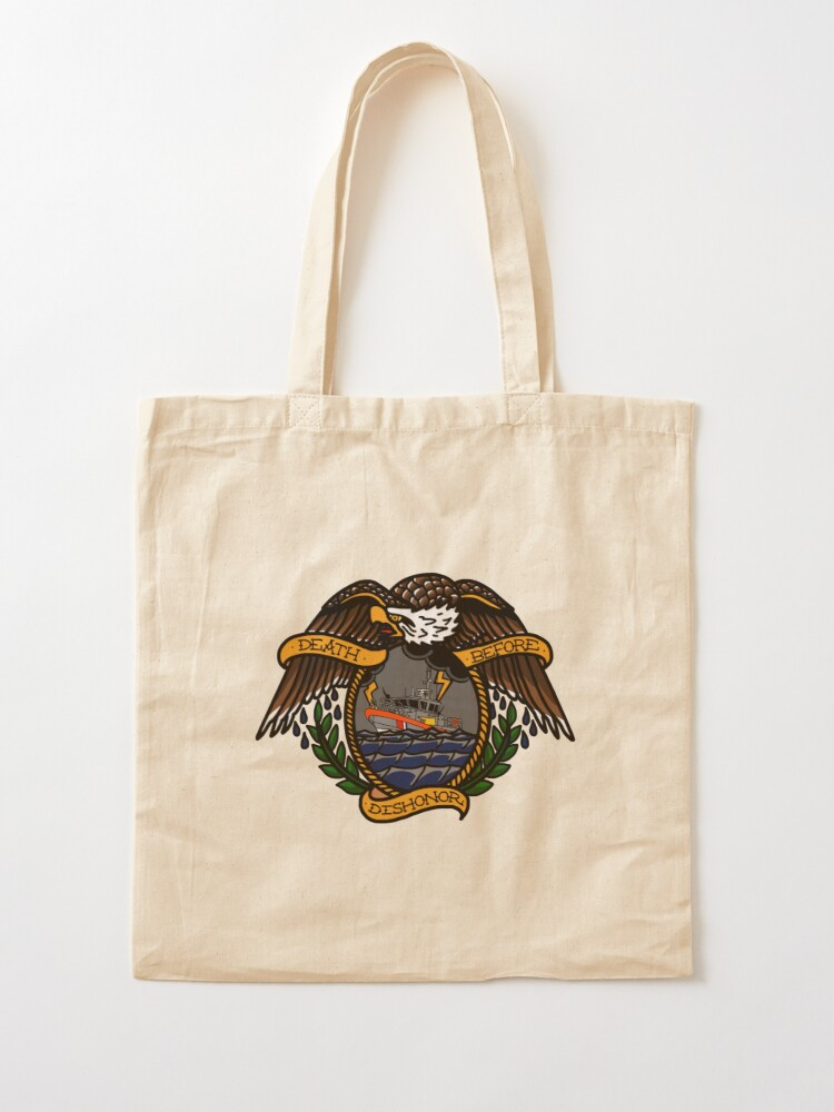Alternate view of Death Before Dishonor - CG 45 RB-M Tote Bag