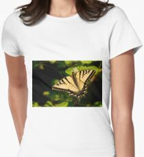 Tiger Swallowtail Womens Fitted T-Shirt