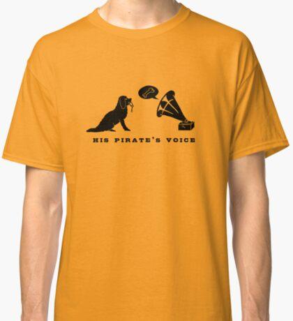 His Pirate's Voice (Black) Classic T-Shirt