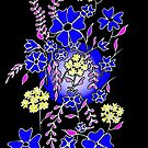 Blue Boquet by Linda Callaghan