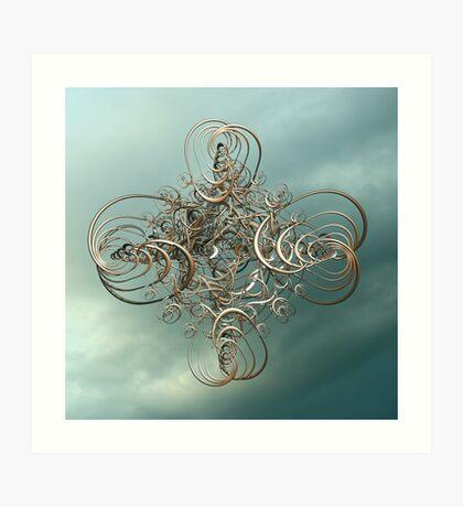 Secret Knots Art Print