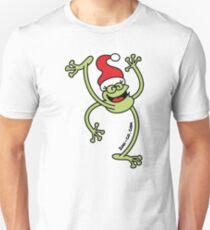 Merry Christmas Frog Unisex T-Shirt