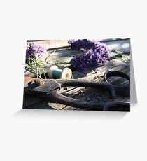 Summer Crafts Greeting Card