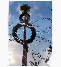 Bavarian summer: ribbons dancing in the sun Poster