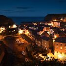 Nightime Staithes by Dave Hudspeth