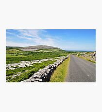 The Burren National Park, County Clare, Ireland Photographic Print