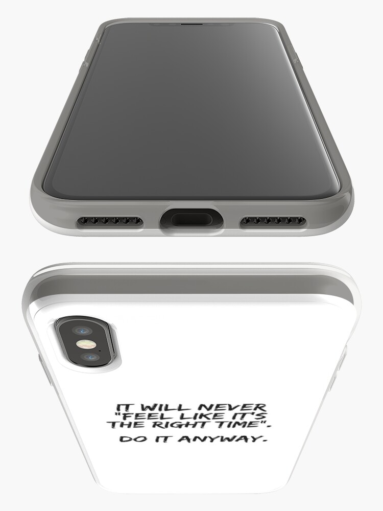 Alternate view of Do It Anyway iPhone Case & Cover