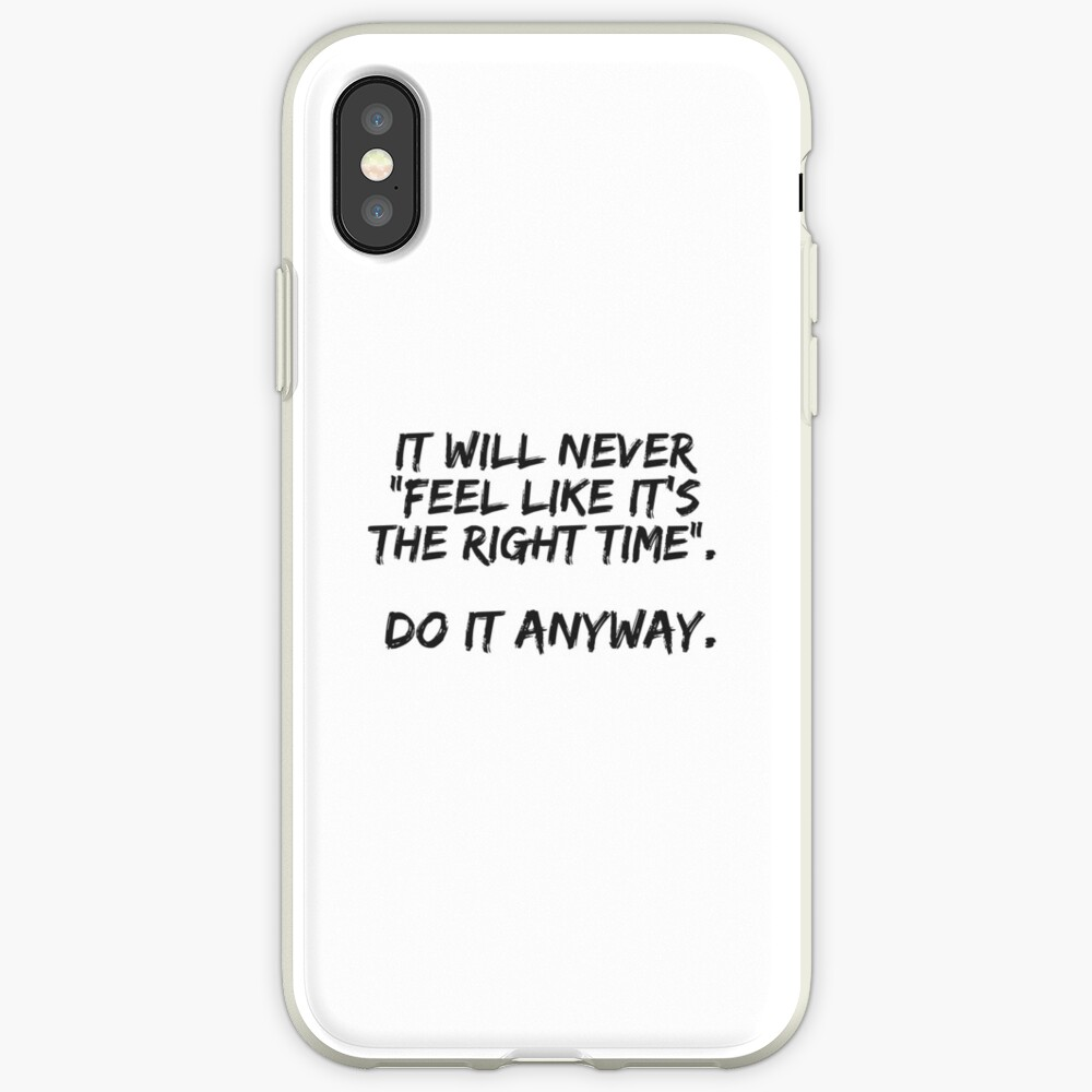 Do It Anyway iPhone Case & Cover