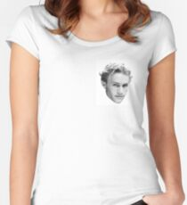 Heath Ledger Women's Fitted Scoop T-Shirt