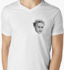 Heath Ledger Men's V-Neck T-Shirt