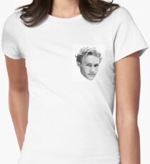 Heath Ledger Womens Fitted T-Shirt