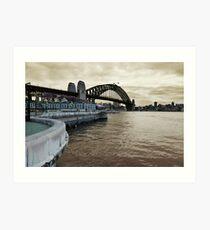 Circular Quay No. 1 Art Print