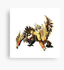Monster Hunter - Seregios Canvas Print