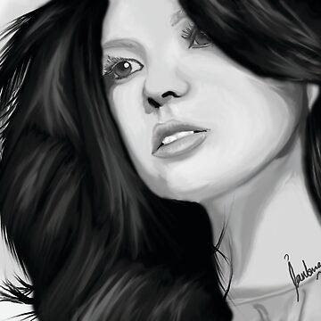 Marie Digby Digital Painting by IraMadHatter