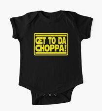 Get To Da Choppa! One Piece - Short Sleeve