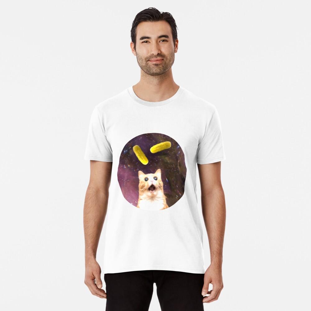 Pickle Cat Premium T-Shirt