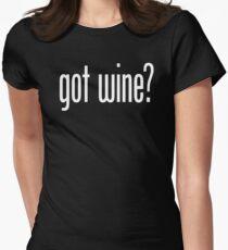 got wine? Women's Fitted T-Shirt