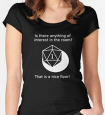 D20 Critical failure - Perception Fitted Scoop T-Shirt