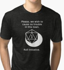 D20 Critical failure - Persuasion Tri-blend T-Shirt