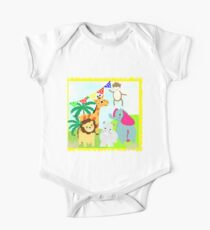 Kids Fun Cartoon Jungle Animals Kids Clothes