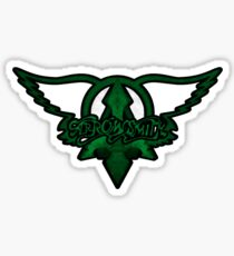 Arrowsmith Green Logo Sticker