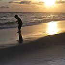 Golden sand at Seaside, Florida by Susana Weber
