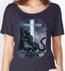 Tron Cat Women's Relaxed Fit T-Shirt