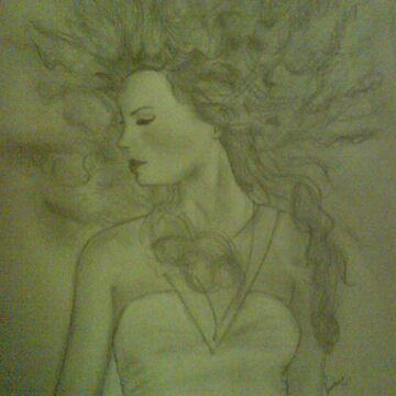 Taylor Swift Pencil Sketch by IraMadHatter