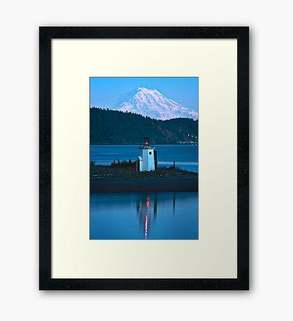 Two Beacons Framed Print