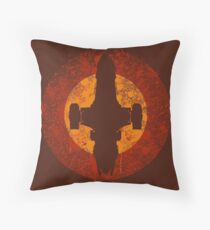Serenity Eclipse Throw Pillow