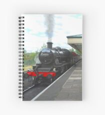 Loughborough Grand Central Station: 'The Elizabethan' Spiral Notebook