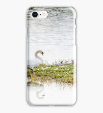 Swan's Family iPhone Case/Skin