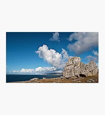 The Burren In Fanore, County Clare, Ireland Photographic Print
