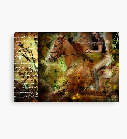 Remain in My Love Canvas Print