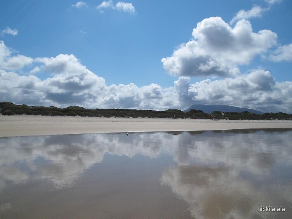 Freezing cold Irish sea by nickilalala