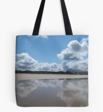 Freezing cold Irish sea Tote Bag